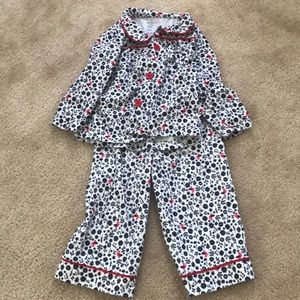 A pair of my favorite little pjs! Great condition